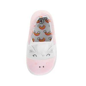 6e45ebf09d9 Garanimals Shoes - Baby Girls Pink Unicorn Canvas Slip On Shoes 4 5 6
